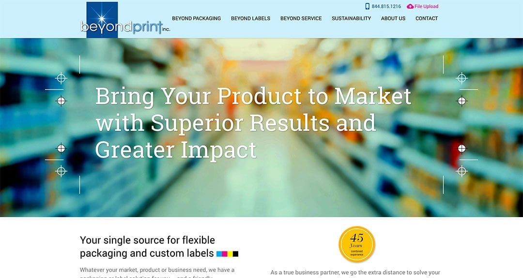Beyond Print in Omaha, USA switches to Your Web Department