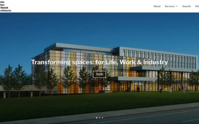 Architectural firm SG&M launches a website by Your Web Department
