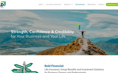 New website: Bold Financial