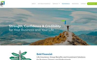 New website: Bold Financial