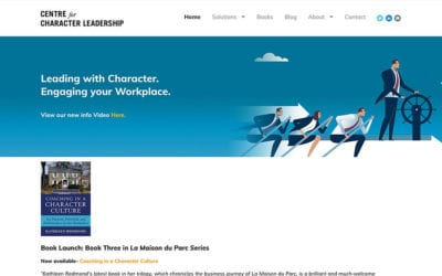 New website: Centre for Character Leadership