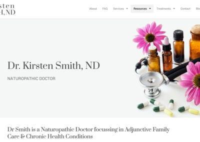 Dr Kirsten Smith, ND
