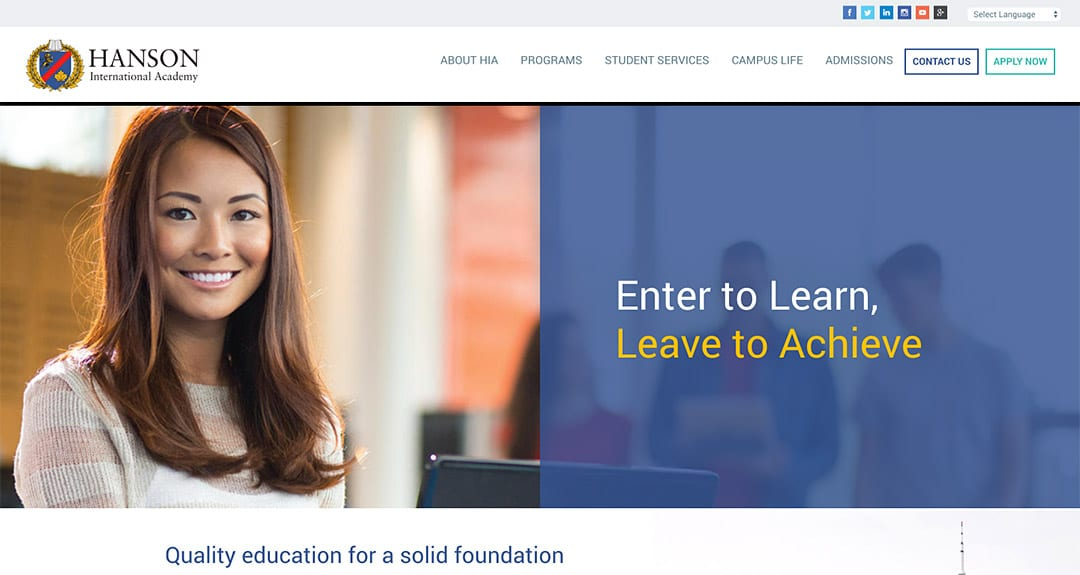Hanson International Academy