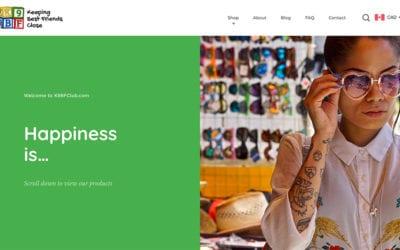 New e-commerce website: K9BfClub.com