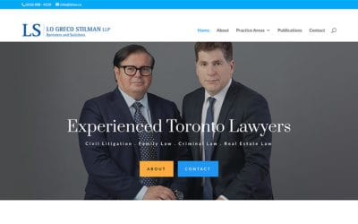 New client: Lo Greco Stilman LLP