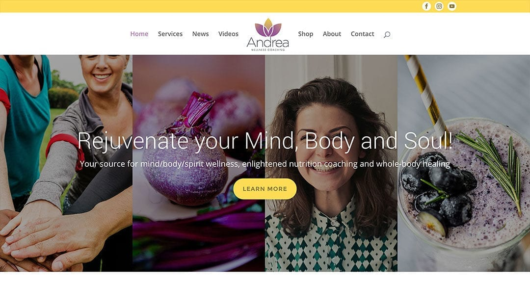 New client: Andrea Wellness