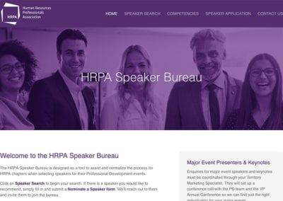 HRPA Speaker Bureau