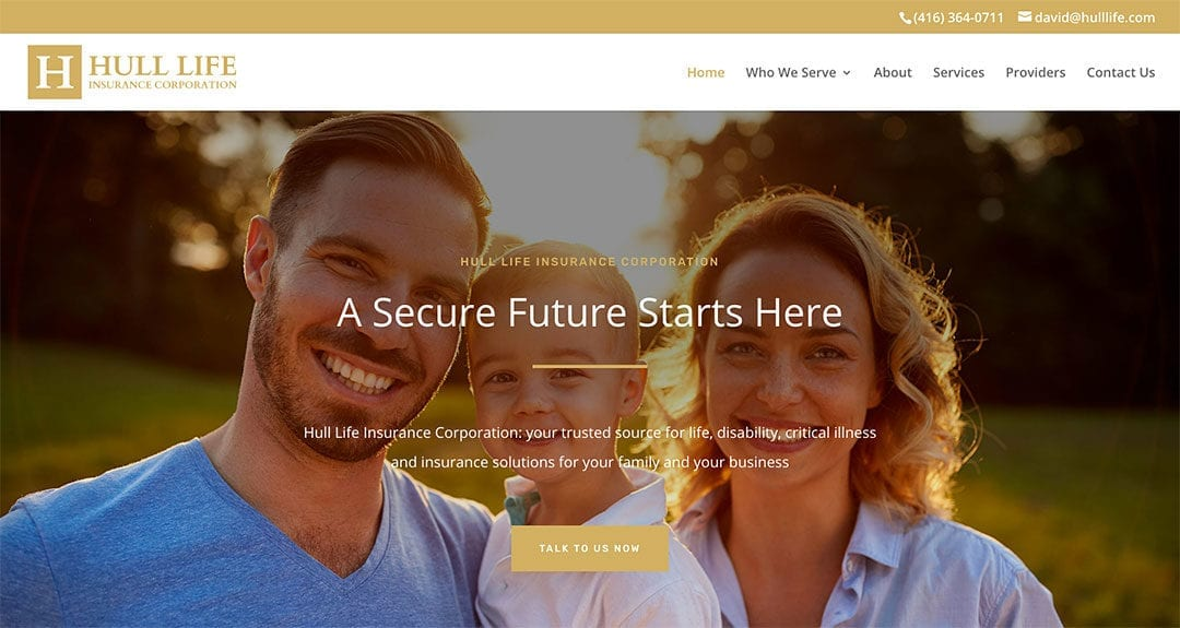 Our latest website: Hull Life Insurance Corporation