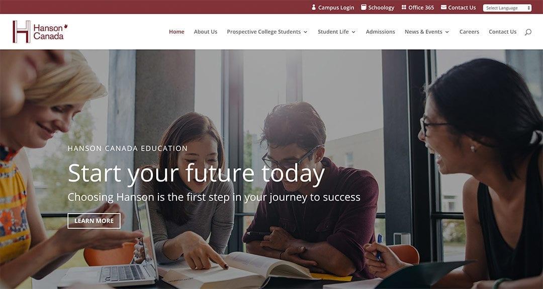 New website: Hanson Canada Corporate