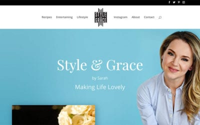 Just launched: Style & Grace