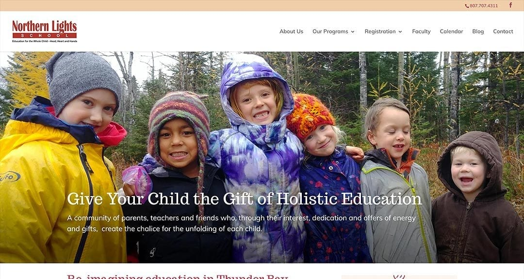 New website: Northern Lights School