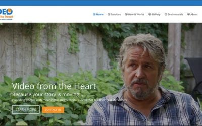 Our latest website: Video from the Heart