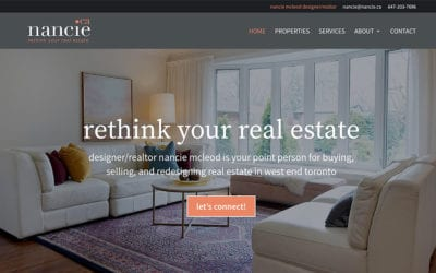 New Real Estate website