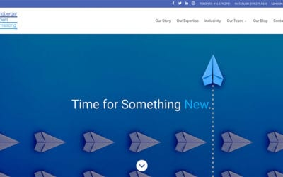 Website redesign: SBA Lawyers LLP