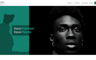 Bisi Alimi Foundation launches a new website by Your Web Department