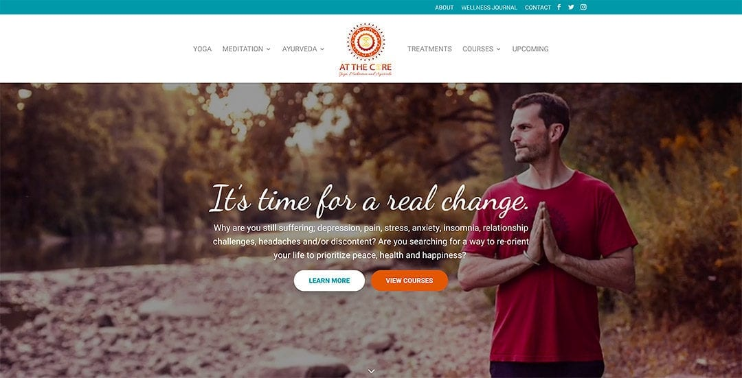 New client: At the Core Yoga