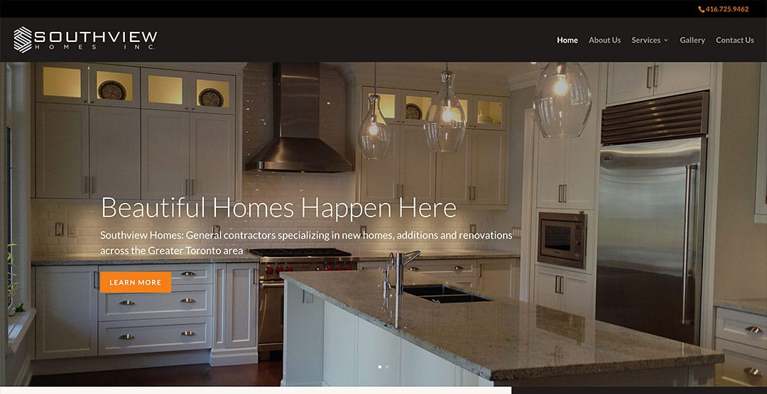 New client: Southview Homes