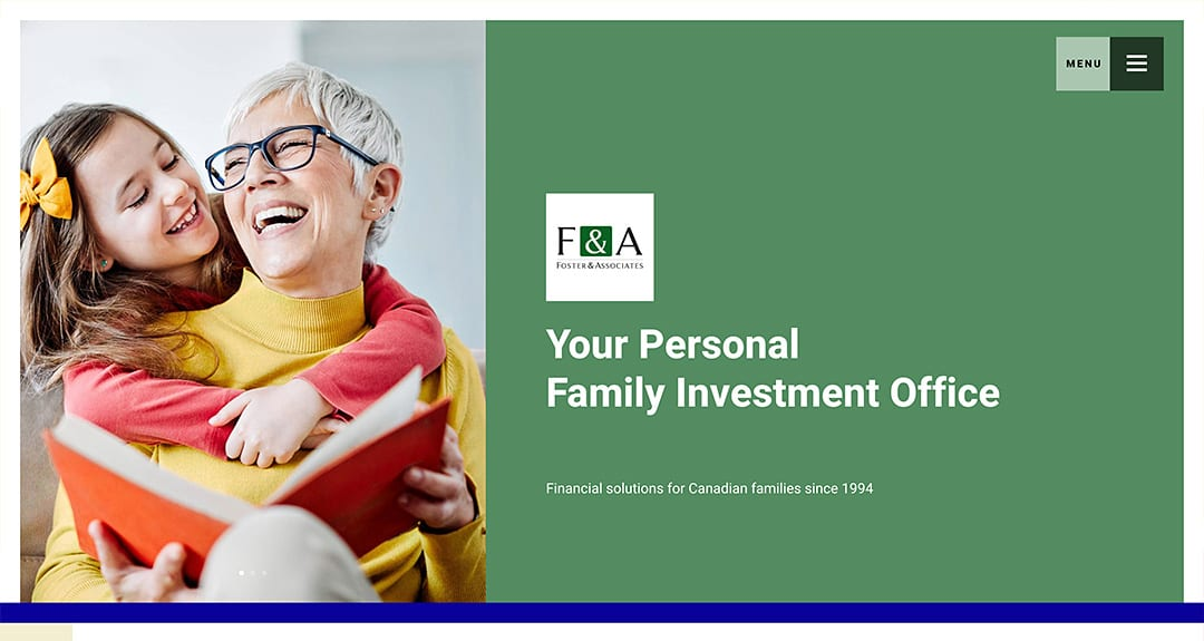 Foster & Associates Financial Services launches a website by Your Web Department
