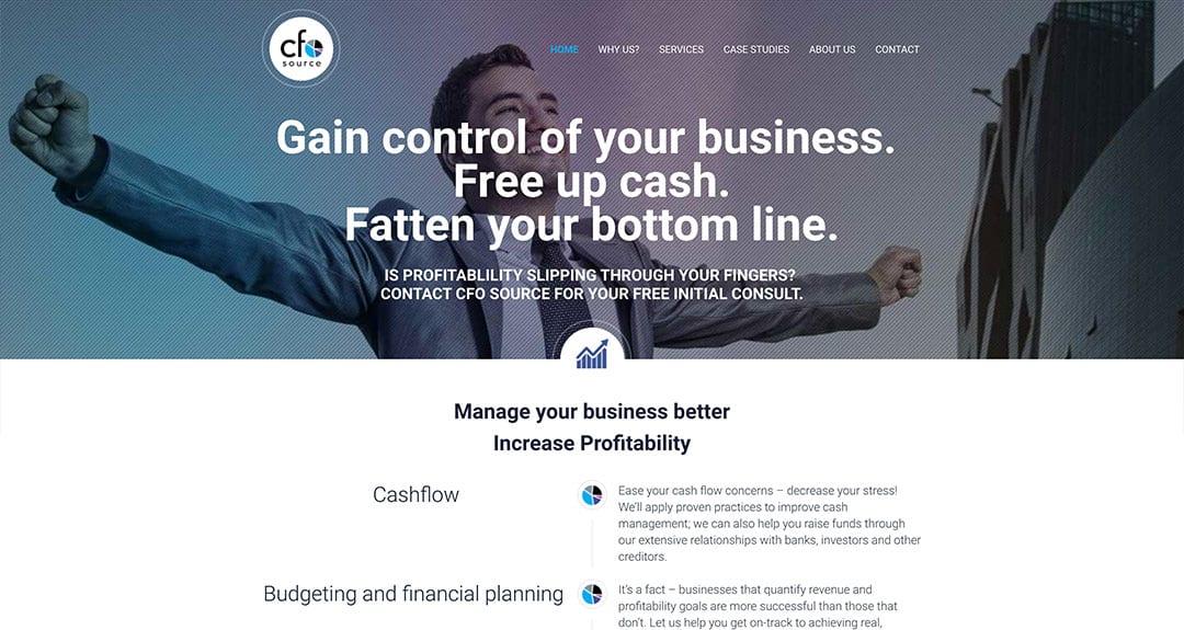Latest conversion to our new platform: CFO Source