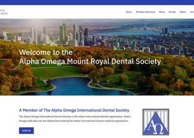 Alpha Omega Mount Royal Dental Society