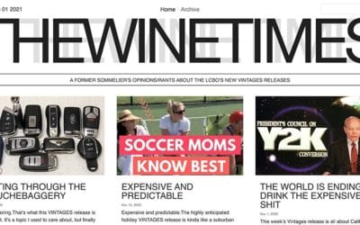 New website: The Wine Times
