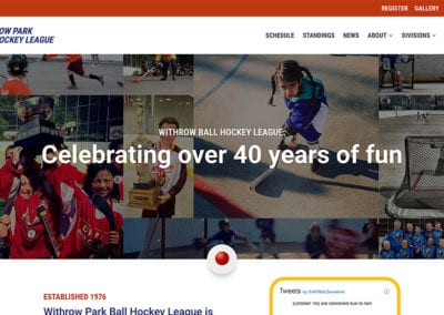 Withrow Park Ball Hockey League
