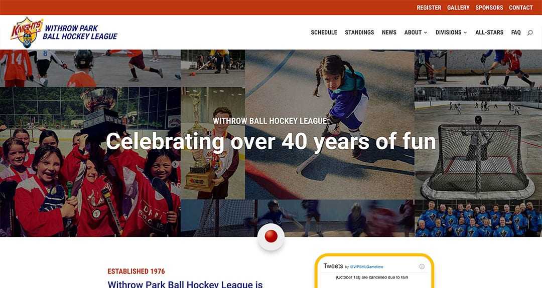Withrow Park Ball Hockey League