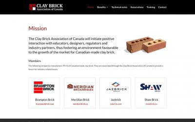 New conversion to WordPress: Clay Brick Association of Canada