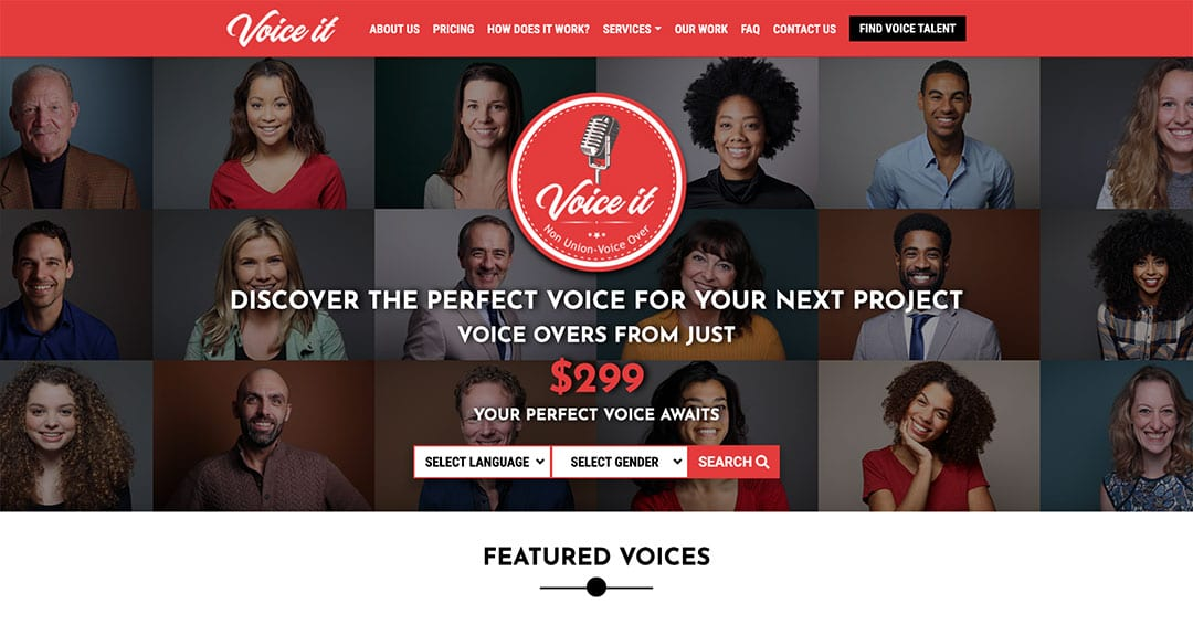 New Project: Voice It