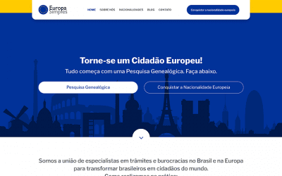 New website: Europa Simples