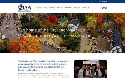 New conversion to WordPress: Kitchener-Waterloo Ontario Insurance Adjusters Association