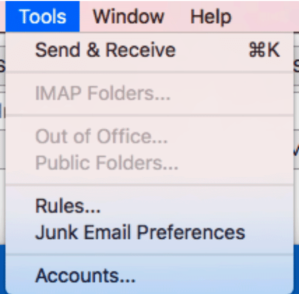 Setting up Outlook email