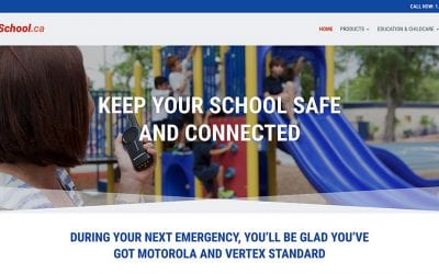 New website redesign and conversion to WordPress: Saferschool