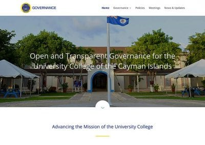 University College of the Cayman Islands Governance Office