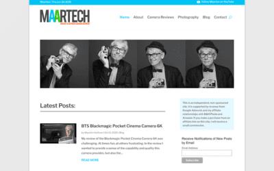 New website: Maartech