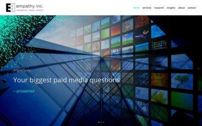 New website redesign: Empathy Inc.