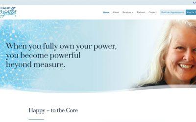 New website redesign: Diane Wargalla