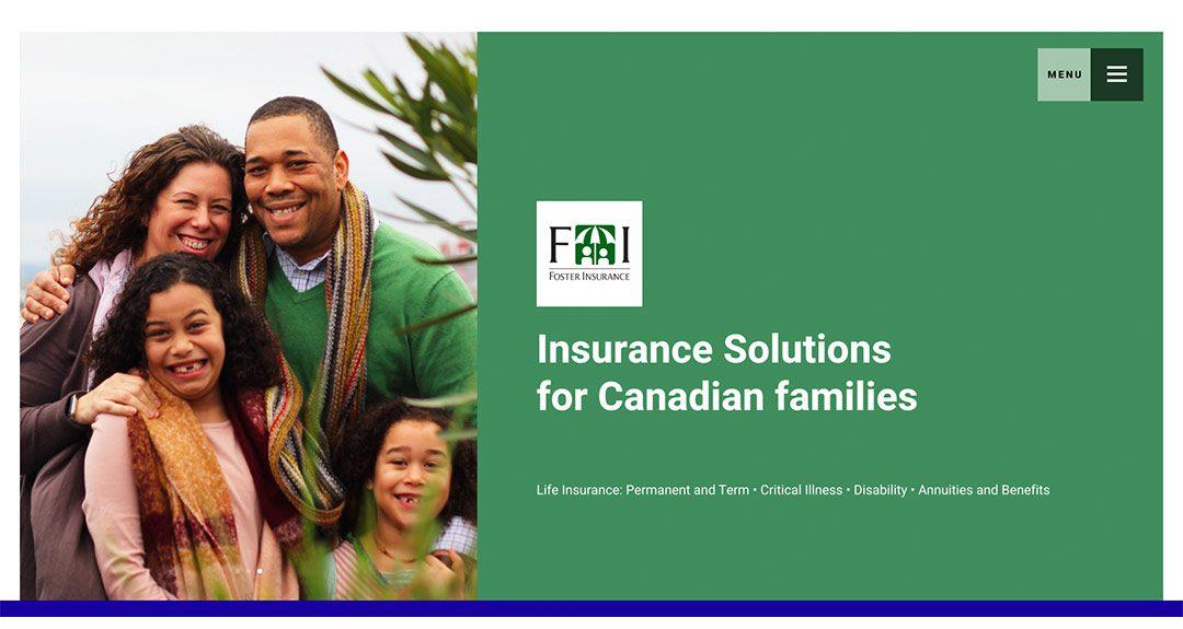 New website: Foster Insurance