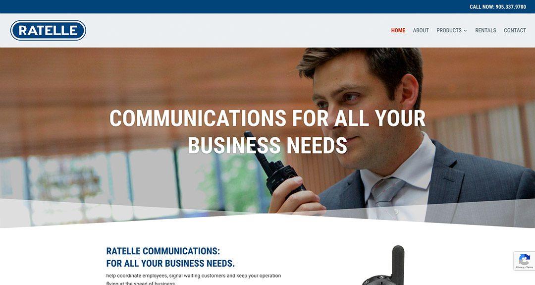New website: Ratelle Communications