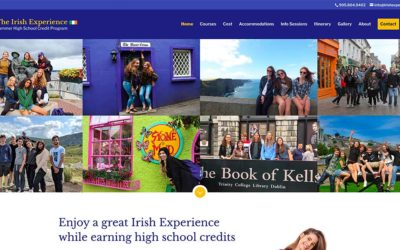 New website redesign and conversion to WordPress: The Irish Experience